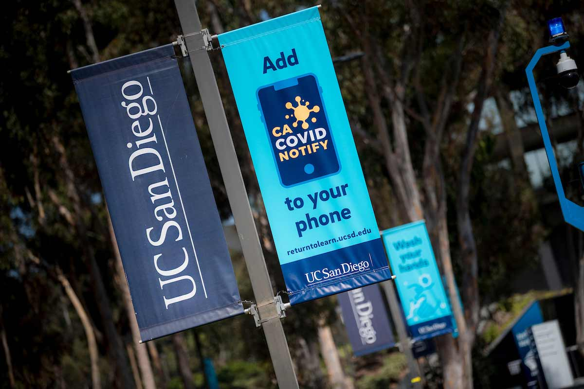 ucsd covid notifiy app banners