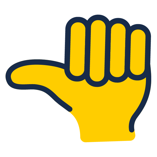 Yellow Thumb icon