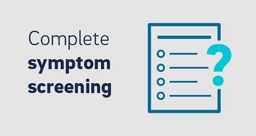 Complete symptom screening